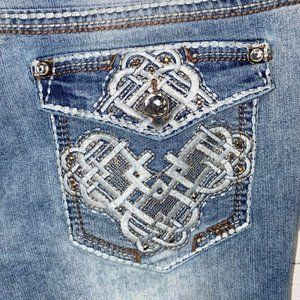 Lei Jeans - Lei Ashley Low Rise BootCut Juniors Jeans